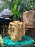 Italian Rams Head Planter