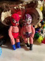 Luchador Baby Paper Mache Doll (2 Sizes)