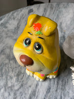 Puppy Chalkware Bank