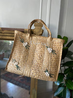 60s World Traveler Woven Bahamas Market Bag