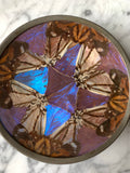 Antique Butterfly Wing Dish
