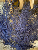 Navy Dried Fern Leaf Bundle