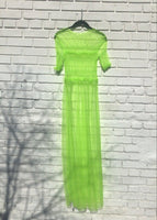 Lime Tulle Ghost Dress