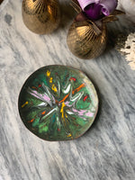 Trippy Painted Copper Dish