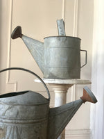 Antique Galvanized Watering Cans