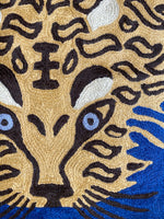 Tiger Embroidery Pillow