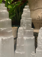 Raw Selenite Tower