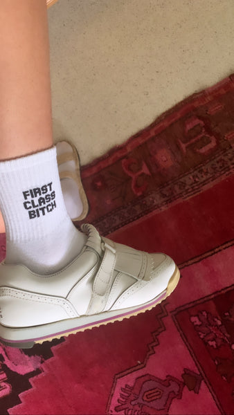 FIRST CLASS BITCH Socks