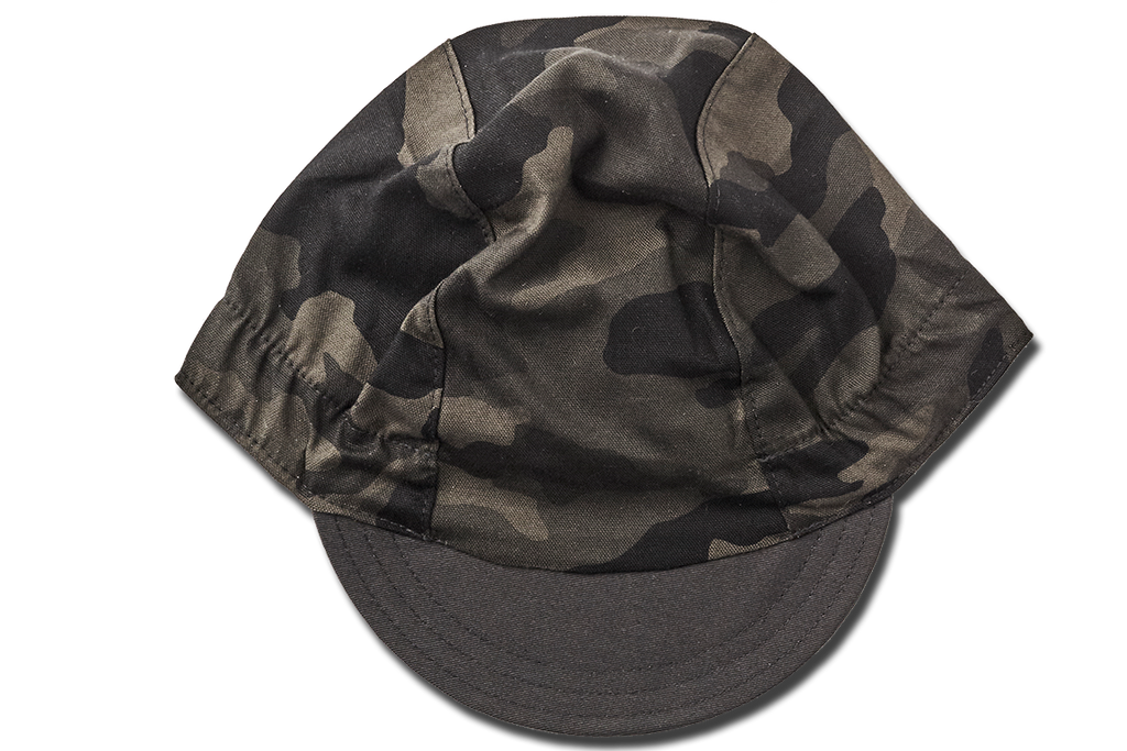 Camouflage TOTAL BLACK EDITION Cycling Cap