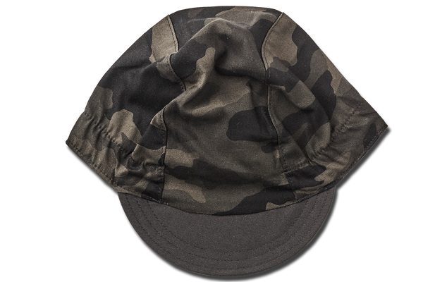 Little Camouflage TOTAL BLACK EDITION Cycling Cap