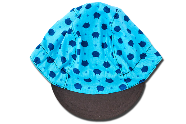 Blue Cats Blue Cycling Cap
