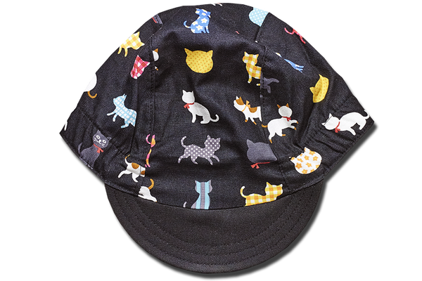 Little Colorful Cats Cycling Cap
