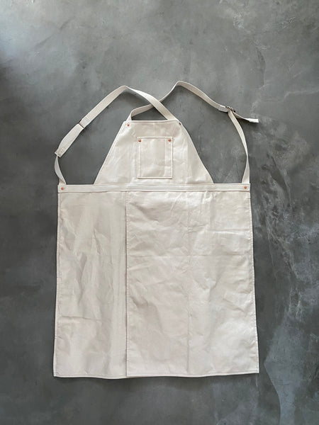 Pottery Apron with Split Leg and Pockets