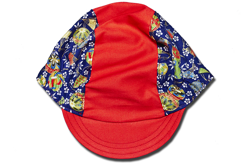 Little Japanese Temari Balls Cycling Cap