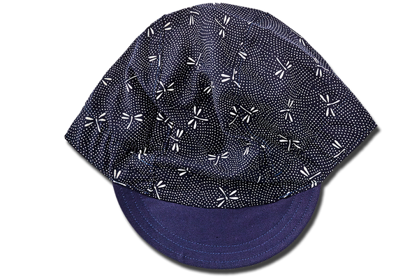 Chevron Dragonfly BLUE Cycling Cap