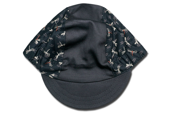 Japanese Chevron Dragonfly Cycling Cap Ver 1.0