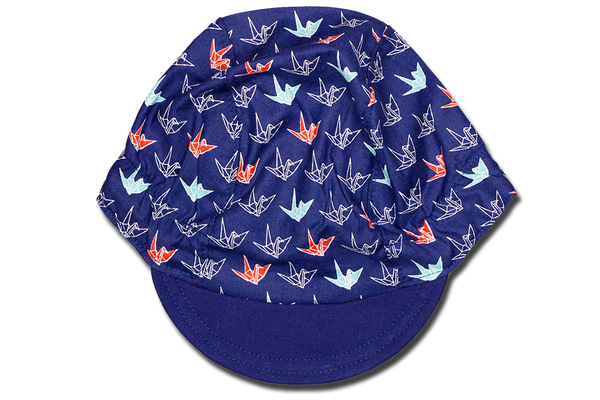 Little Origami Blue Ver 2 Cycling Cap