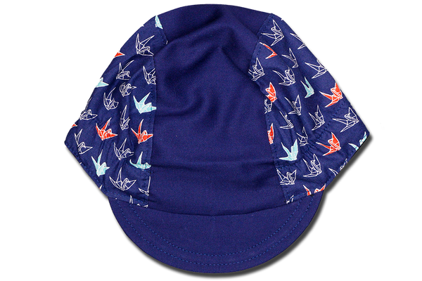 Little Origami Blue Ver 3 Cycling Cap
