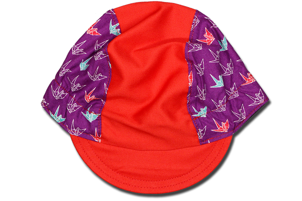 Little Origami Purple Ver 2 Cycling Cap