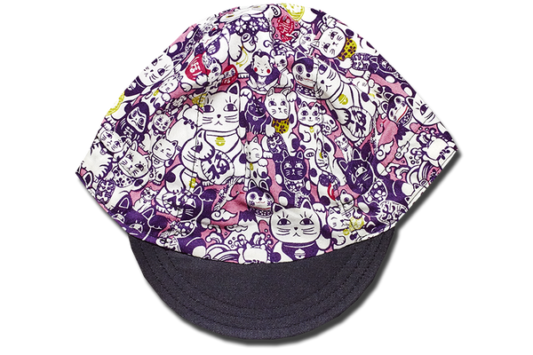 Maneki Monogram Cycling Cap