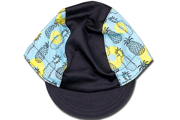 Ong Lai Huat Pineapple Blue Cycling Cap