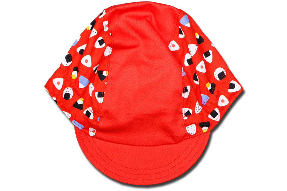 Origini Red Cycling Cap