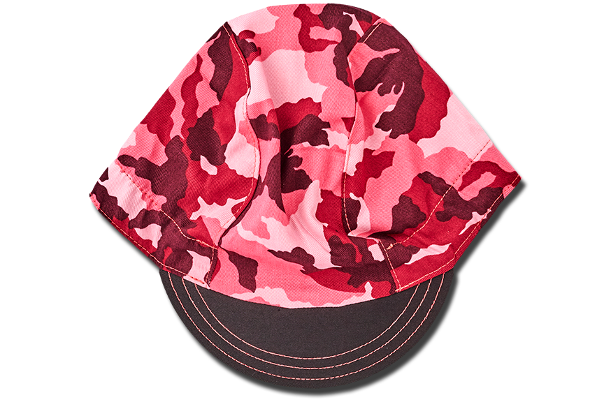 Camouflage PINK Cycling Cap