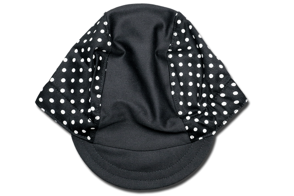 Little White Dots Cycling Cap