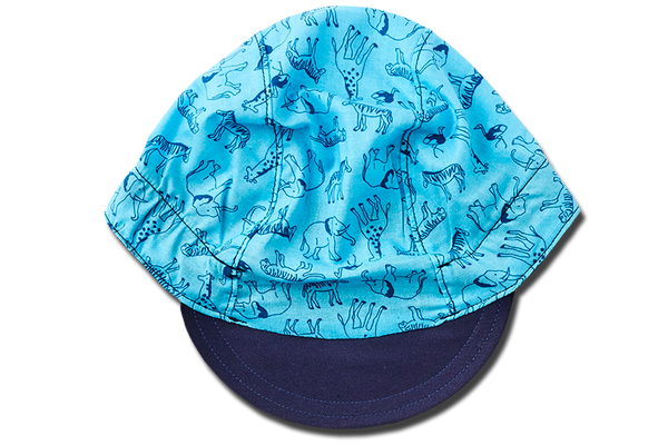 Little Safari BLUE Cycling Cap