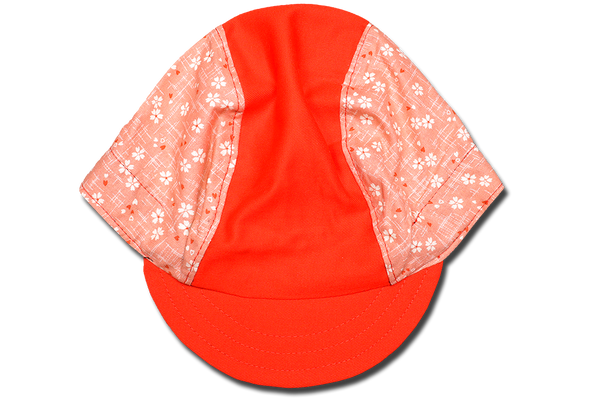 Japanese Cherry Blossoms Pink Cycling Cap