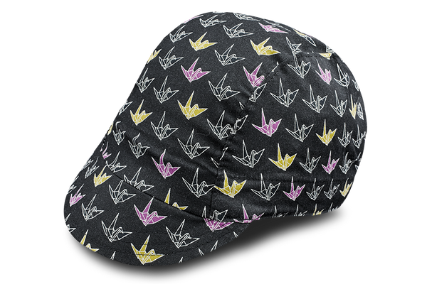Little Origami Black Cycling Cap