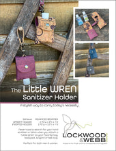 Load image into Gallery viewer, The Little WREN Sanitizer Holder