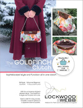 Load image into Gallery viewer, The Goldfinch DUO with FREE Pocket ADD-ON Pattern