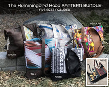 Load image into Gallery viewer, The Hummingbird Hobo - PATTERN PIECES BUNDLE