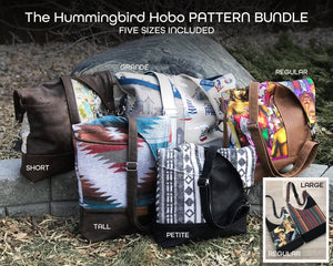 The Hummingbird Hobo - PATTERN PIECES BUNDLE
