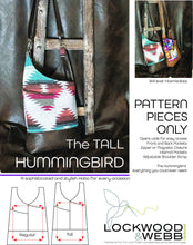 Load image into Gallery viewer, The Hummingbird Hobo TALL - PATTERN PIECES Only
