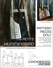 Load image into Gallery viewer, The Hummingbird Hobo PETITE - PATTERN PIECES Only