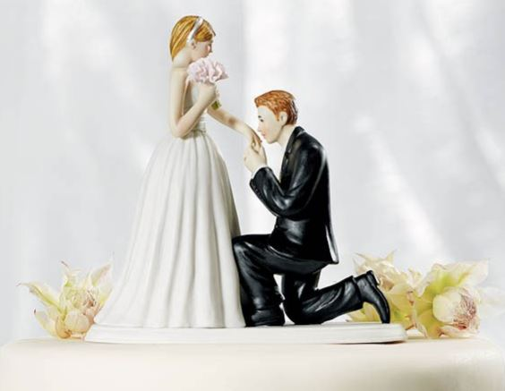Customized Wedding Cake Toppers to Love