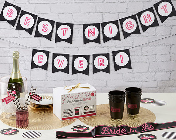 Bachelorette Bash 66 Piece Bachelorette Party Kit - CLOSEOUT - InCasaGifts