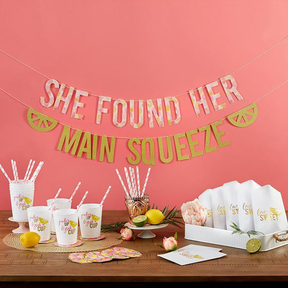 She Found Her Main Squeeze 49 Piece Party Kit - InCasaGifts