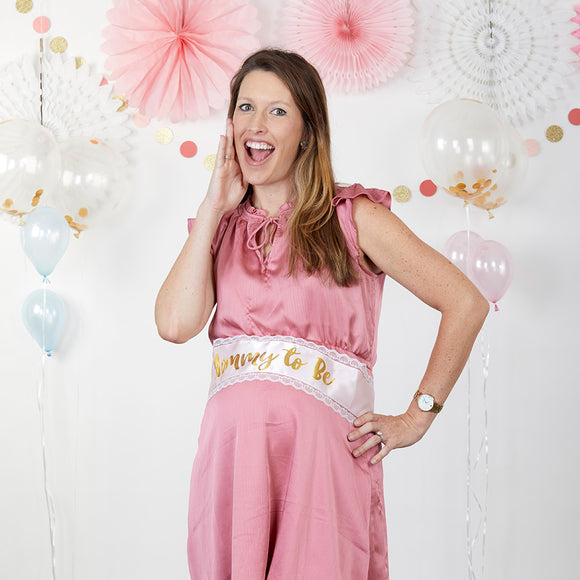 Baby Shower Belly Sash & Game Set - InCasaGifts