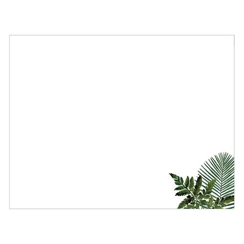 Wedding Guest Book Sign-in Sheets - Blank Greenery - InCasaGifts
