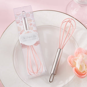 """The Perfect Mix"" Pink Kitchen Whisk - InCasaGifts"