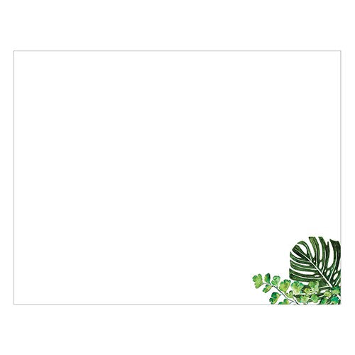 Wedding Guest Book Sign-in Sheets - Blank Love Greenery