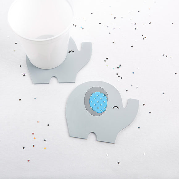 Elephant Coaster - Little Peanut (Blue) - InCasaGifts