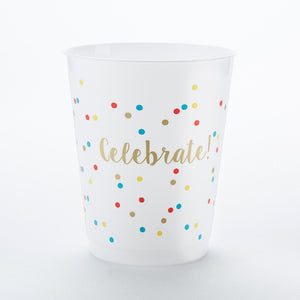 Celebrate 14 oz. Stadium Cups (Set of 12) - InCasaGifts