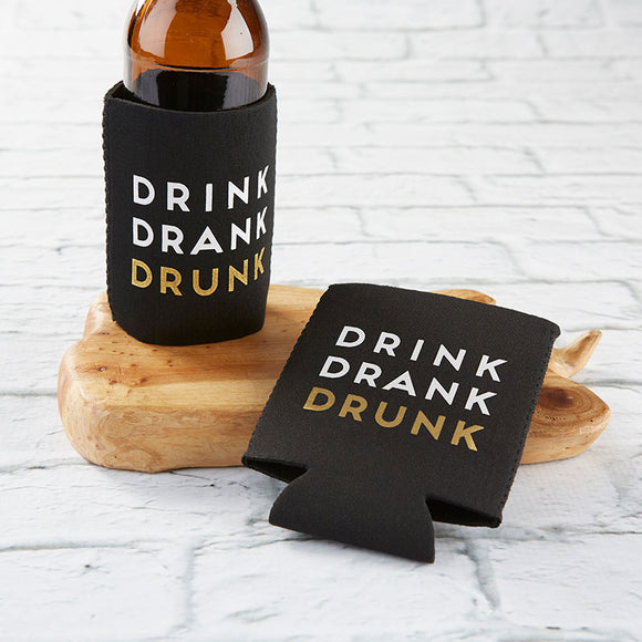 Drink Drank Drunk Insulated Drink Sleeve Set (Set of 4) - InCasaGifts