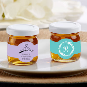 Personalized Honey Jar - Wedding (Set of 12) (Personalization Cost Included!) - InCasaGifts