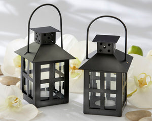 Luminous Black Mini-Lantern Tea Light Holder - InCasaGifts