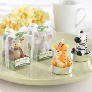 """Born to be Wild"" Animal Candles - Assorted (Set of 4) - InCasaGifts"